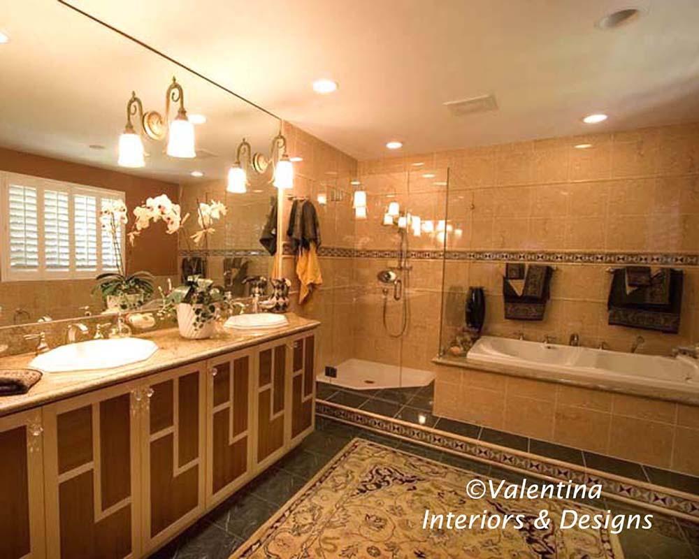 Custom-Made Vanity Cabinet
