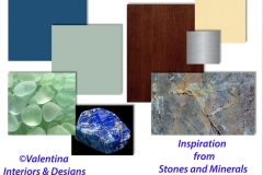 My Inspiration of proposed colors and materials