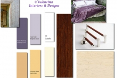Purple-Yellow-Cream-Brown