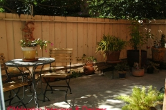 Terrace oustide living room – AFTER