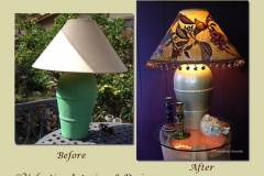 Before and After Lamp