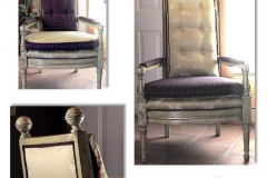 Chair Remade in Venetian Style