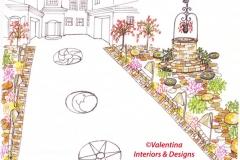 Driveway-Landscape - Proposed Concept Two