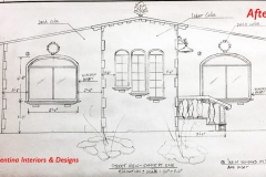 Front View Drawing - Concept One