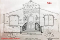 Front Entry Drawing - Concept Two