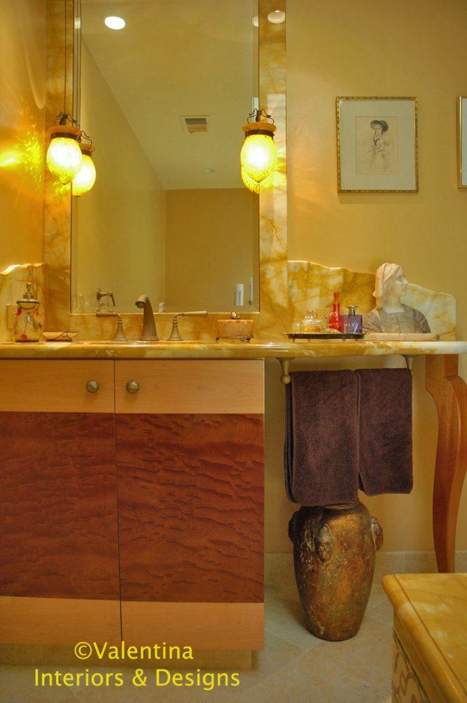 Her Bathroom - Vanity - AFTER