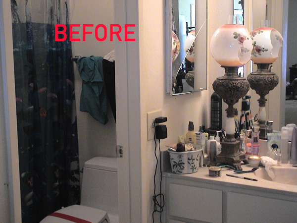His Vanity-Shower-WC - BEFORE