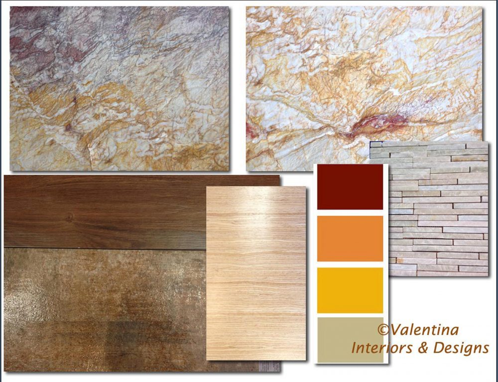 Kitchen-Dining - Colors and Material