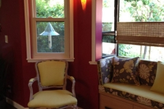 Kitchen Window Banquette - AFTER