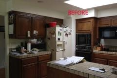 Refrigerator Area - BEFORE