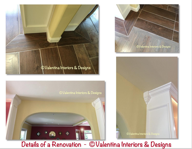 Details Of Renovations