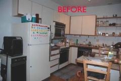 Kitchen Corner View – BEFORE