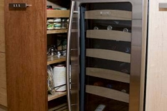 Spice Rack and Wines Refrigerator – AFTER