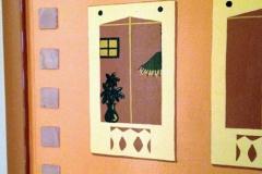 Mural Details on Closet Doors - AFTER