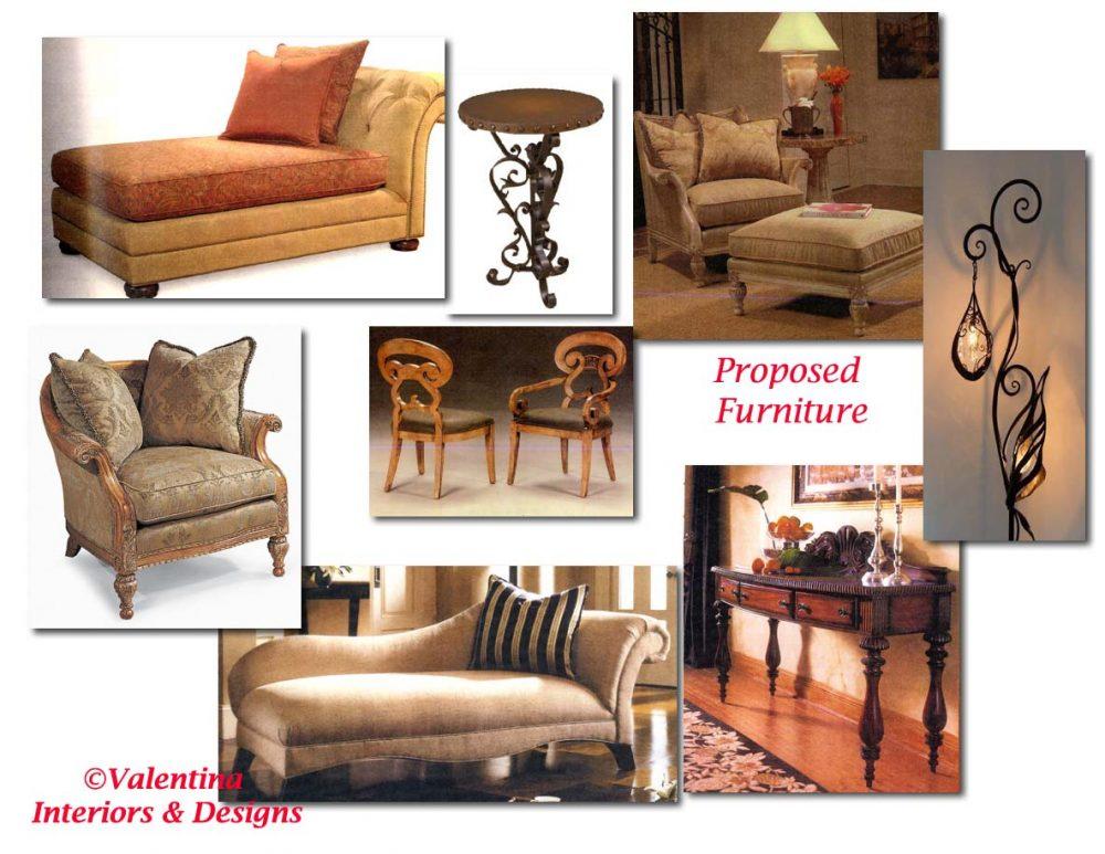 Proposed Furniture
