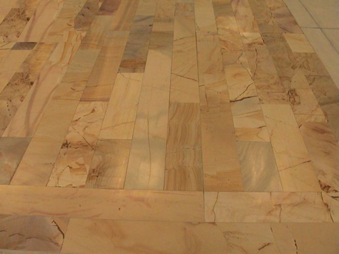 Stone Planking Floor - AFTER