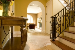 Mediterranean Foyer - AFTER