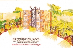 AFTER - Portofino Inn Entry Concept Drawing