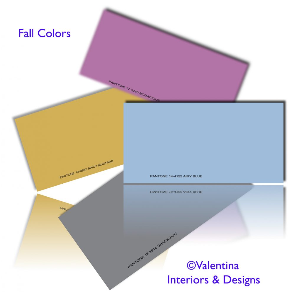 Fall Colors Variation: Bodacious (magenta), Mustard, Airy Blue