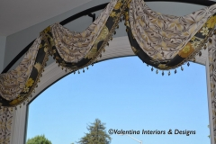 Santa Clara - Bowed Rod Living Room Window Treatment