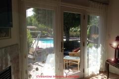 Santa Clara - Master Bedroom Sitting Area -Chiffon Curtains