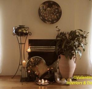 Decorated Fireplace-Menlo Park, CA