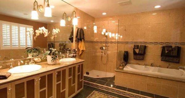 Art Déco Bathroom-Palo Alto, CA