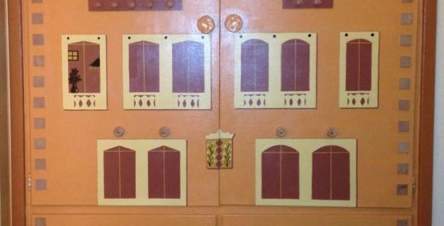 Mural On Closet Doors-San Carlos, CA