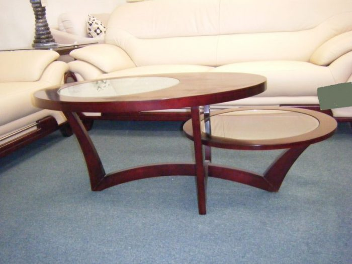 Contempo - double round coffee table